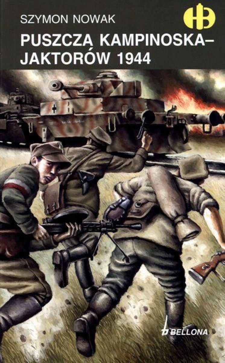Puszcza Kampinoska - Jaktorów 1944 - Ebook (Książka EPUB) do pobrania w formacie EPUB
