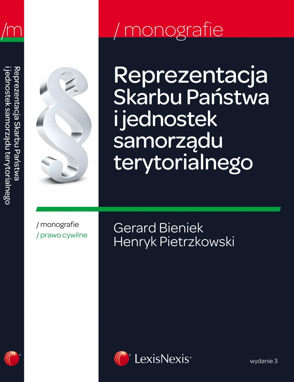 Reprezentacja Skarbu Państwa i jednostek samorządu terytorialnego - Ebook (Książka EPUB) do pobrania w formacie EPUB