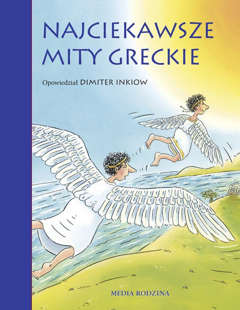 Najciekawsze mity greckie - Ebook (Książka na Kindle) do pobrania w formacie MOBI