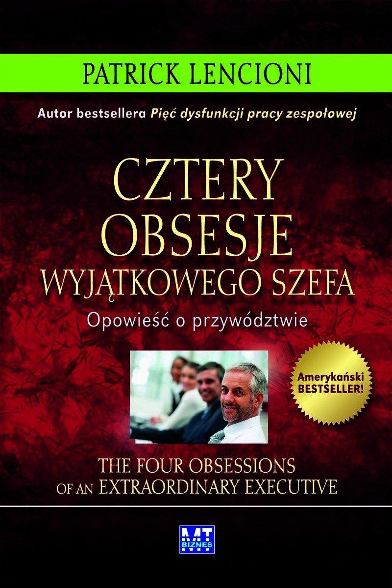 Cztery obsesje wyjątkowego szefa - Audiobook (Książka audio MP3) do pobrania w całości w archiwum ZIP