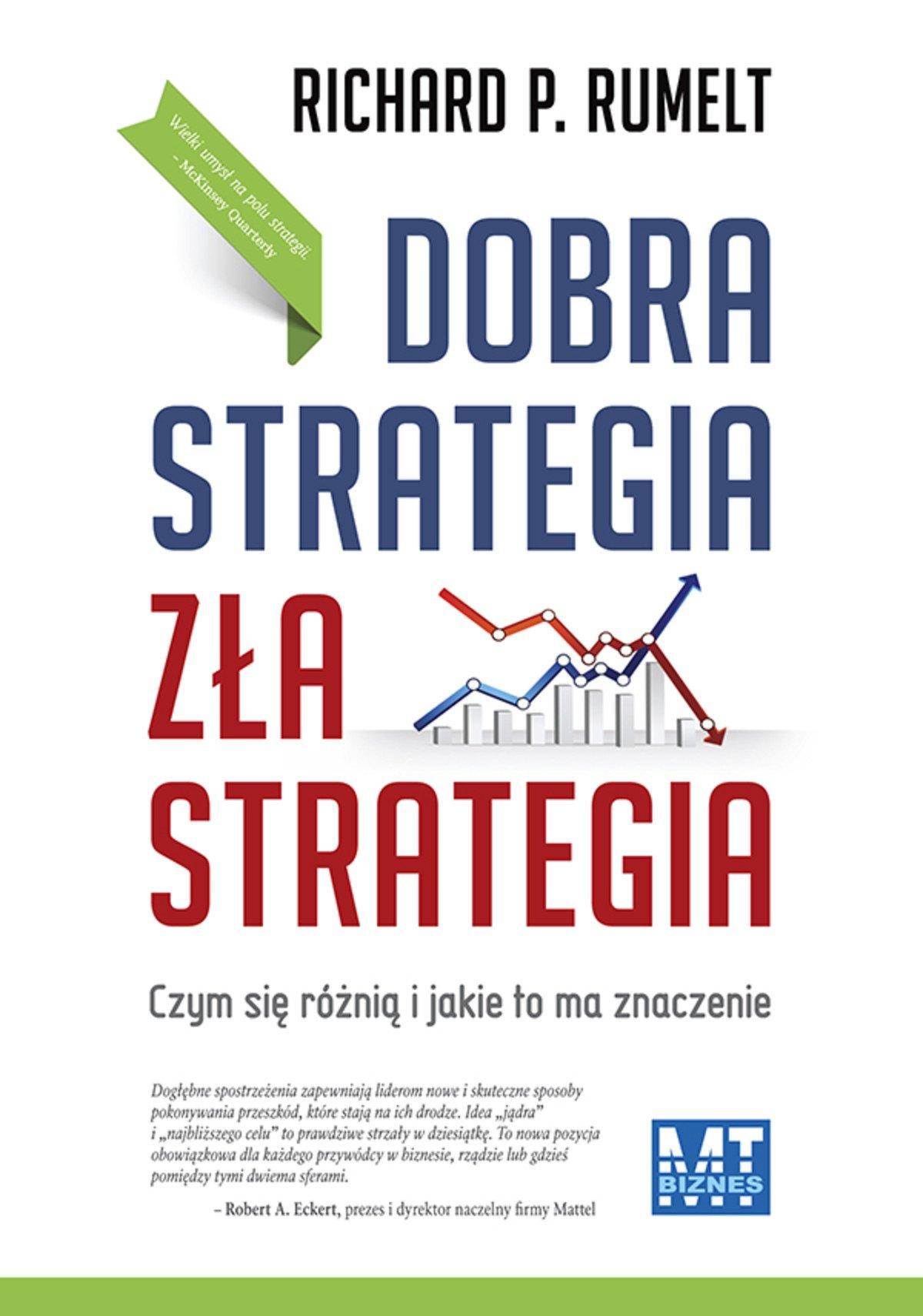 Dobra strategia zła strategia - Ebook (Książka EPUB) do pobrania w formacie EPUB