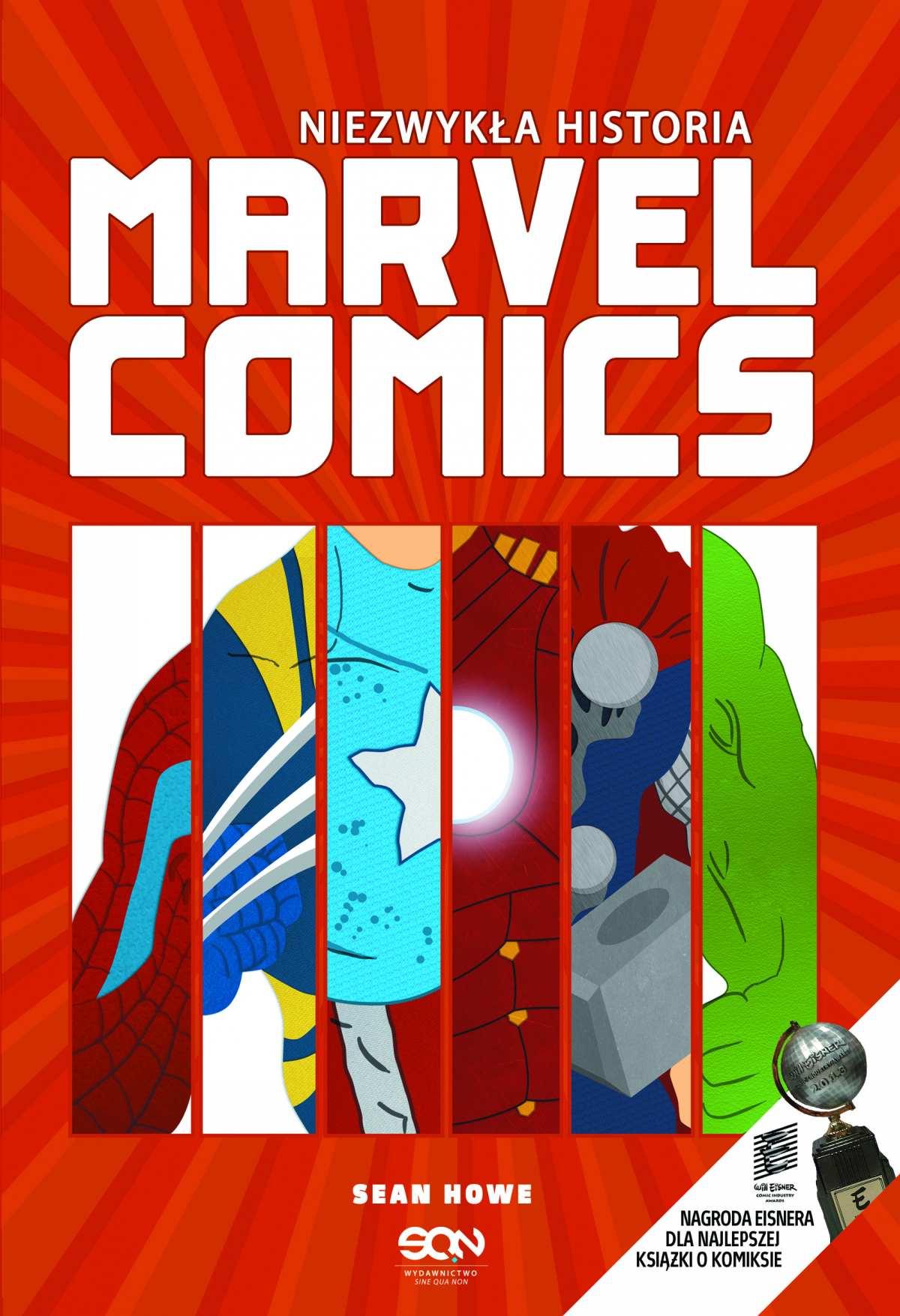 Niezwykła historia Marvel Comics - Ebook (Książka EPUB) do pobrania w formacie EPUB