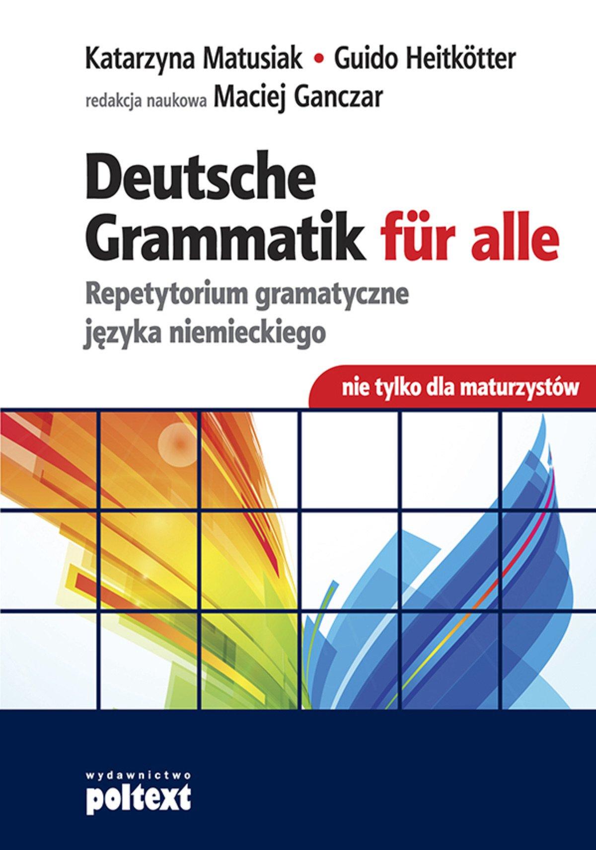Deutsche Grammatik für alle - Ebook (Książka EPUB) do pobrania w formacie EPUB