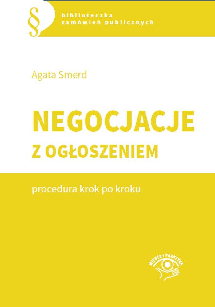 Negocjacje z ogłoszeniem - procedura krok po kroku - Ebook (Książka PDF) do pobrania w formacie PDF
