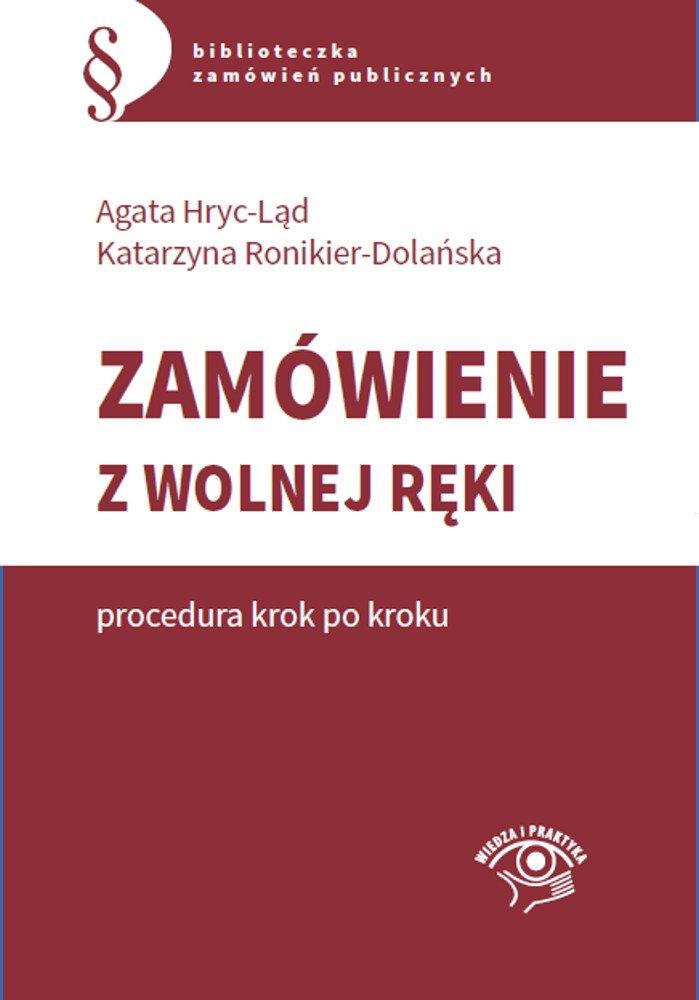 Zamówienie z wolnej ręki - procedura krok po kroku - Ebook (Książka EPUB) do pobrania w formacie EPUB
