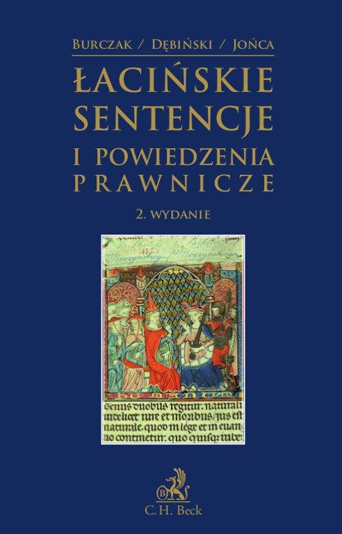 Łacińskie sentencje i powiedzenia prawnicze - Ebook (Książka PDF) do pobrania w formacie PDF