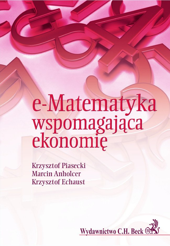 e-Matematyka wspomagająca ekonomię - Ebook (Książka PDF) do pobrania w formacie PDF