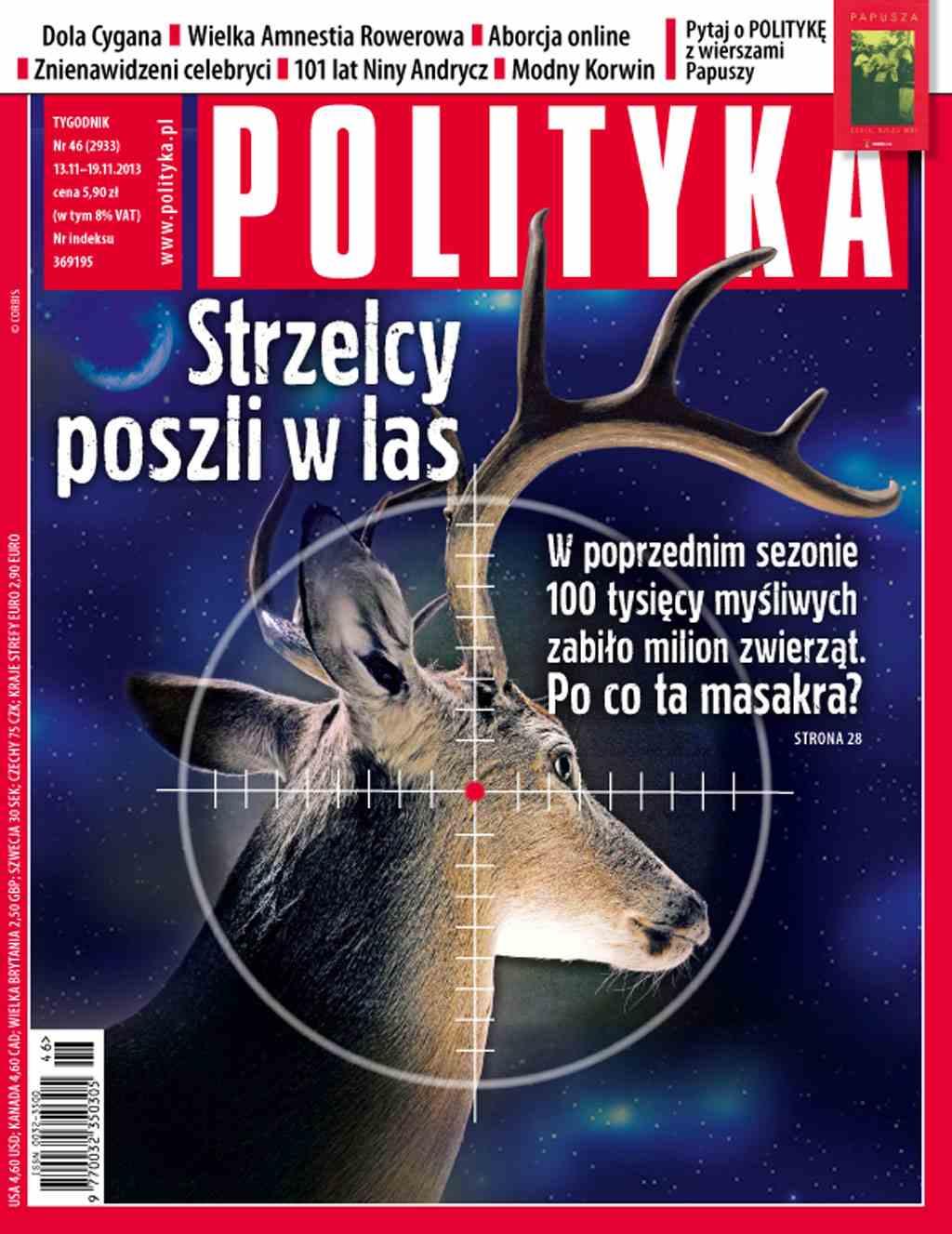 Polityka nr 46/2013 - Ebook (Książka PDF) do pobrania w formacie PDF