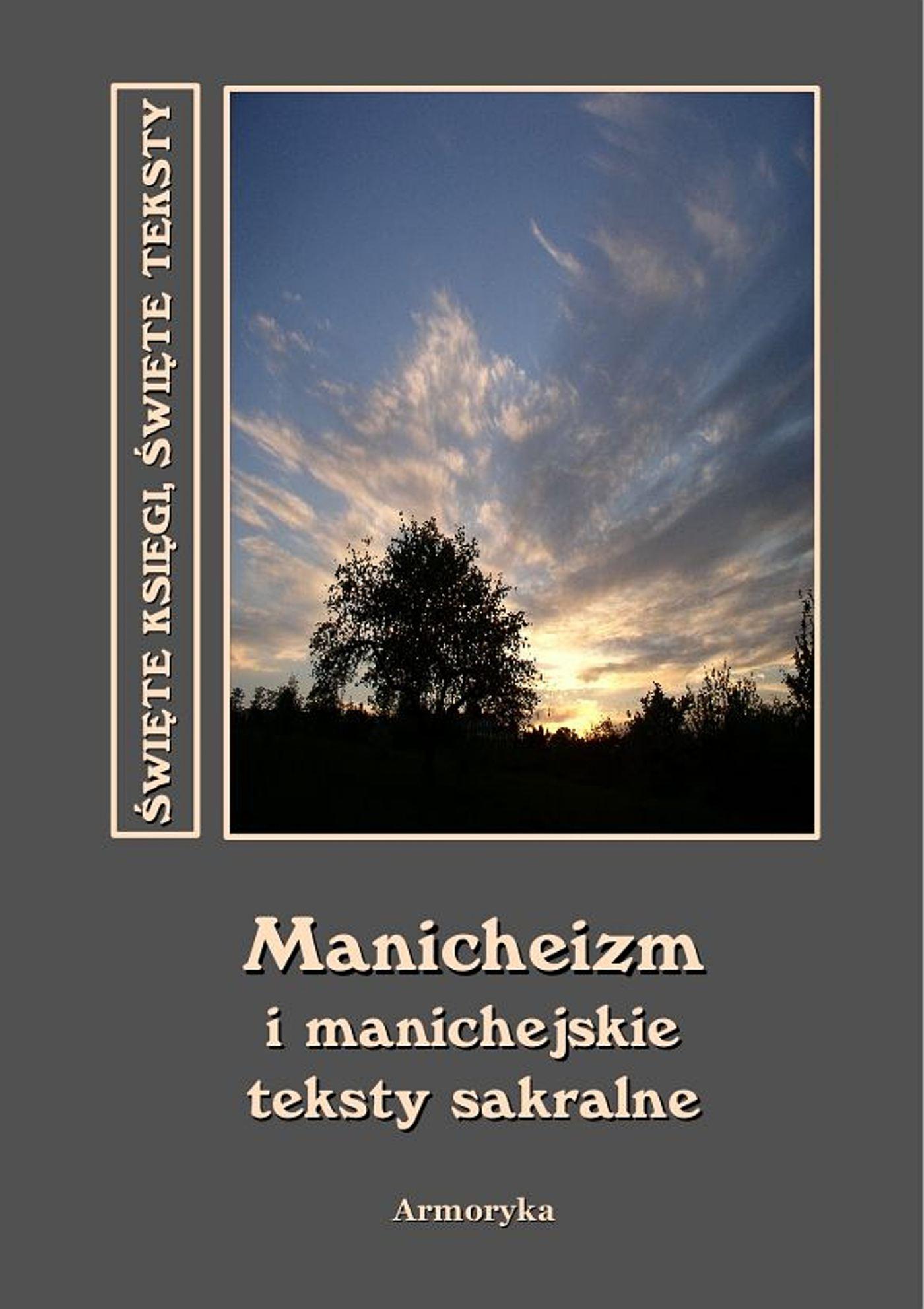 Manichejskie teksty sakralne - Ebook (Książka EPUB) do pobrania w formacie EPUB