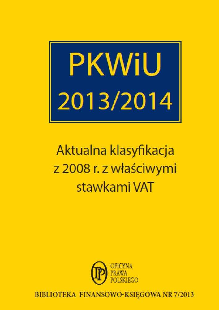 PKWiU 2013 - Ebook (Książka EPUB) do pobrania w formacie EPUB