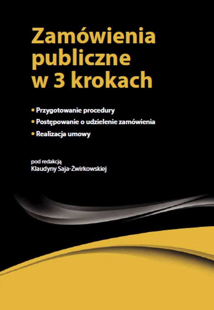 Zamówienia Publiczne w 3 krokach - Ebook (Książka EPUB) do pobrania w formacie EPUB