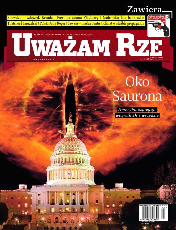 """""""Uważam Rze. Inaczej pisane"""" nr 45/2013 - Ebook (Książka PDF) do pobrania w formacie PDF"""