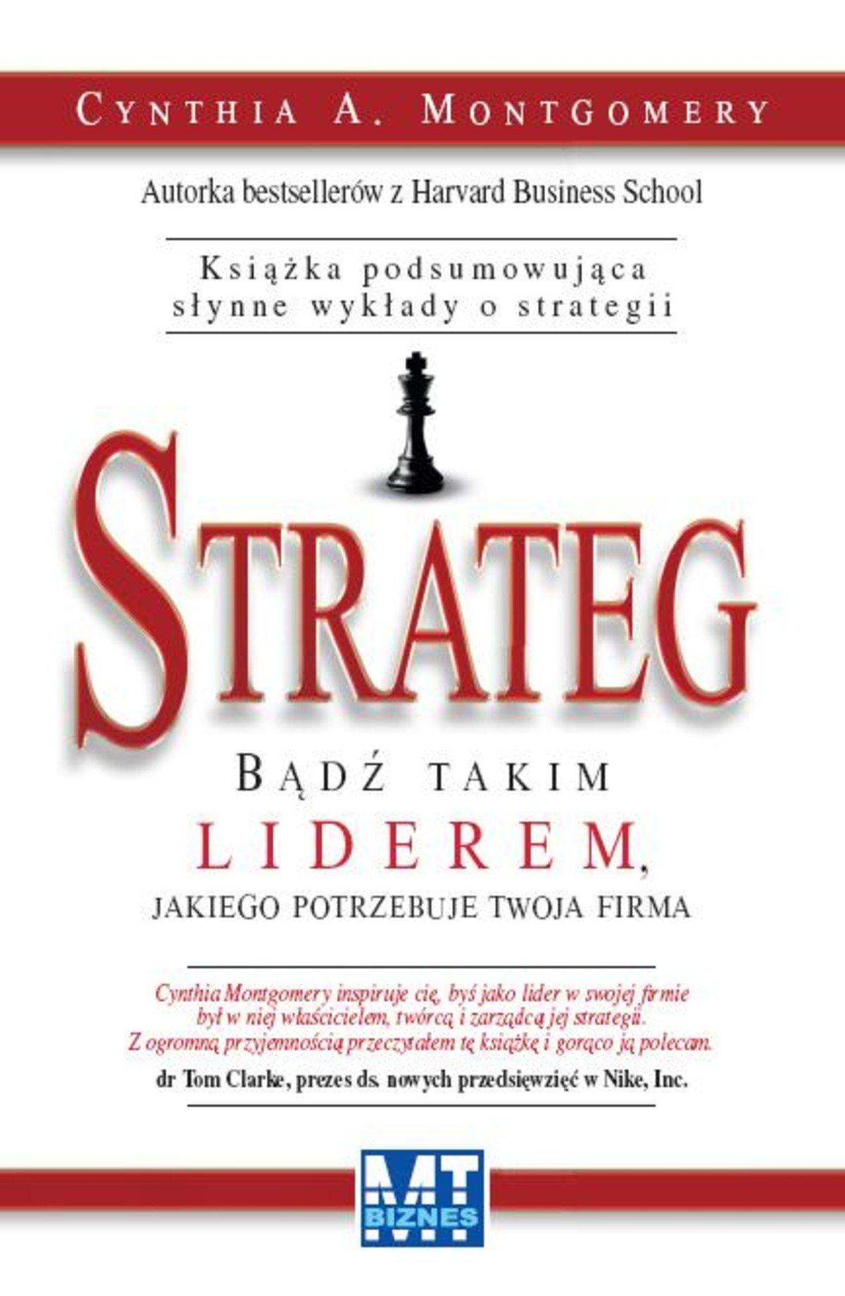 Strateg - Ebook (Książka EPUB) do pobrania w formacie EPUB