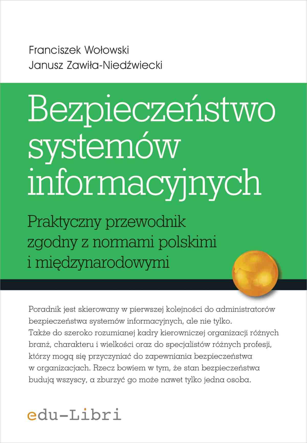 Bezpieczeństwo systemów informacyjnych - Ebook (Książka EPUB) do pobrania w formacie EPUB