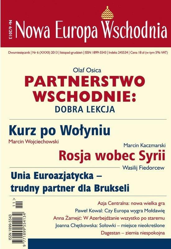 Nowa Europa Wschodnia 6/2013 - Ebook (Książka na Kindle) do pobrania w formacie MOBI