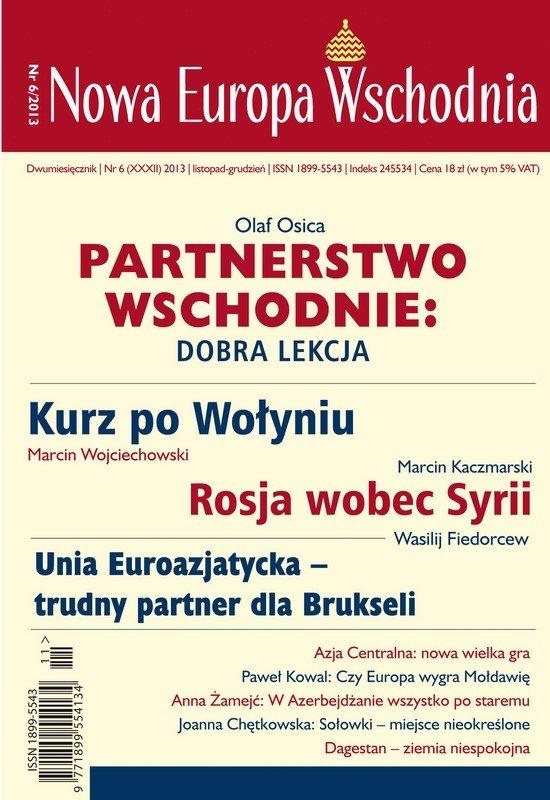 Nowa Europa Wschodnia 6/2013 - Ebook (Książka PDF) do pobrania w formacie PDF