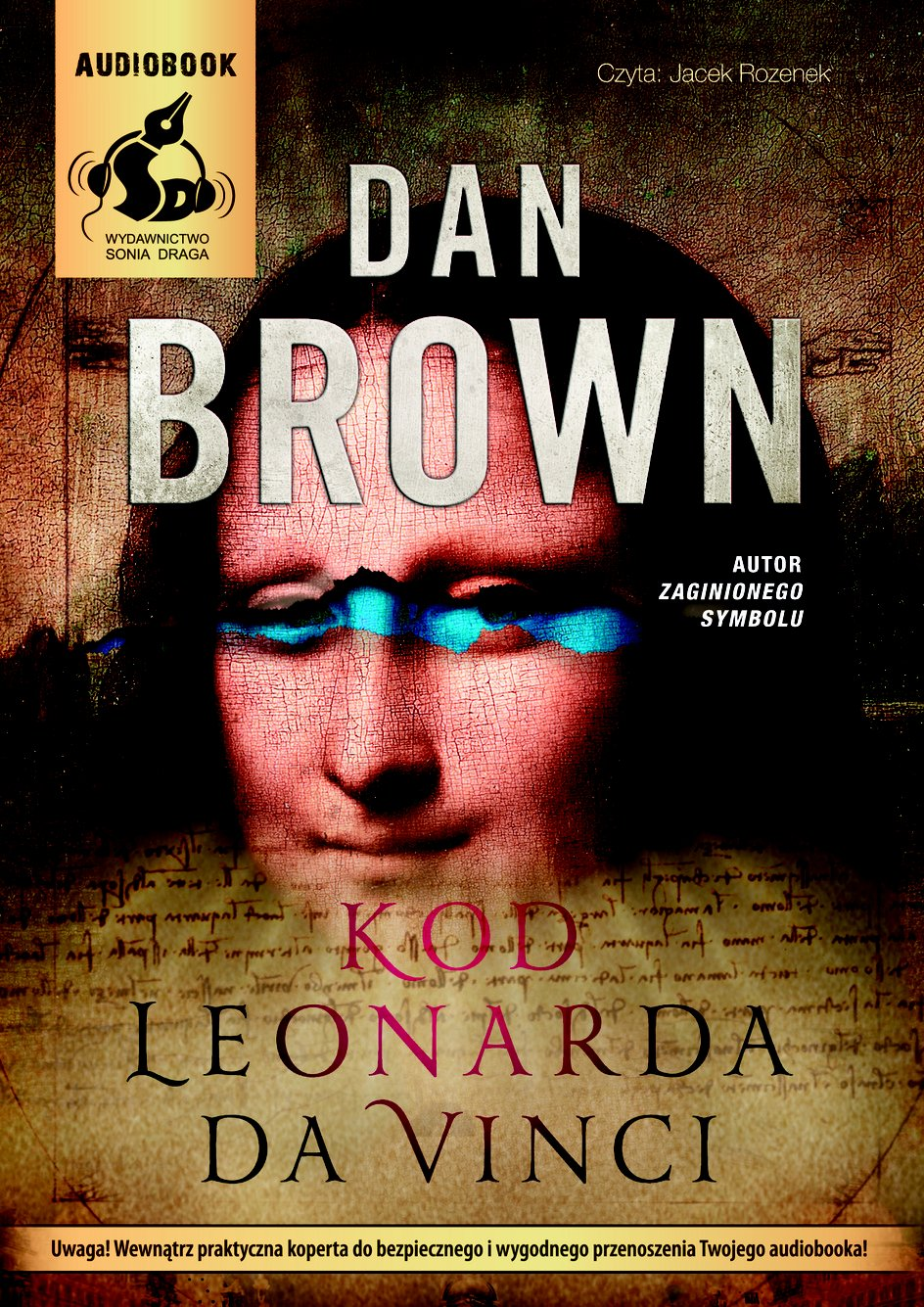 Kod Leonarda da Vinci - Audiobook (Książka audio MP3) do pobrania w całości w archiwum ZIP