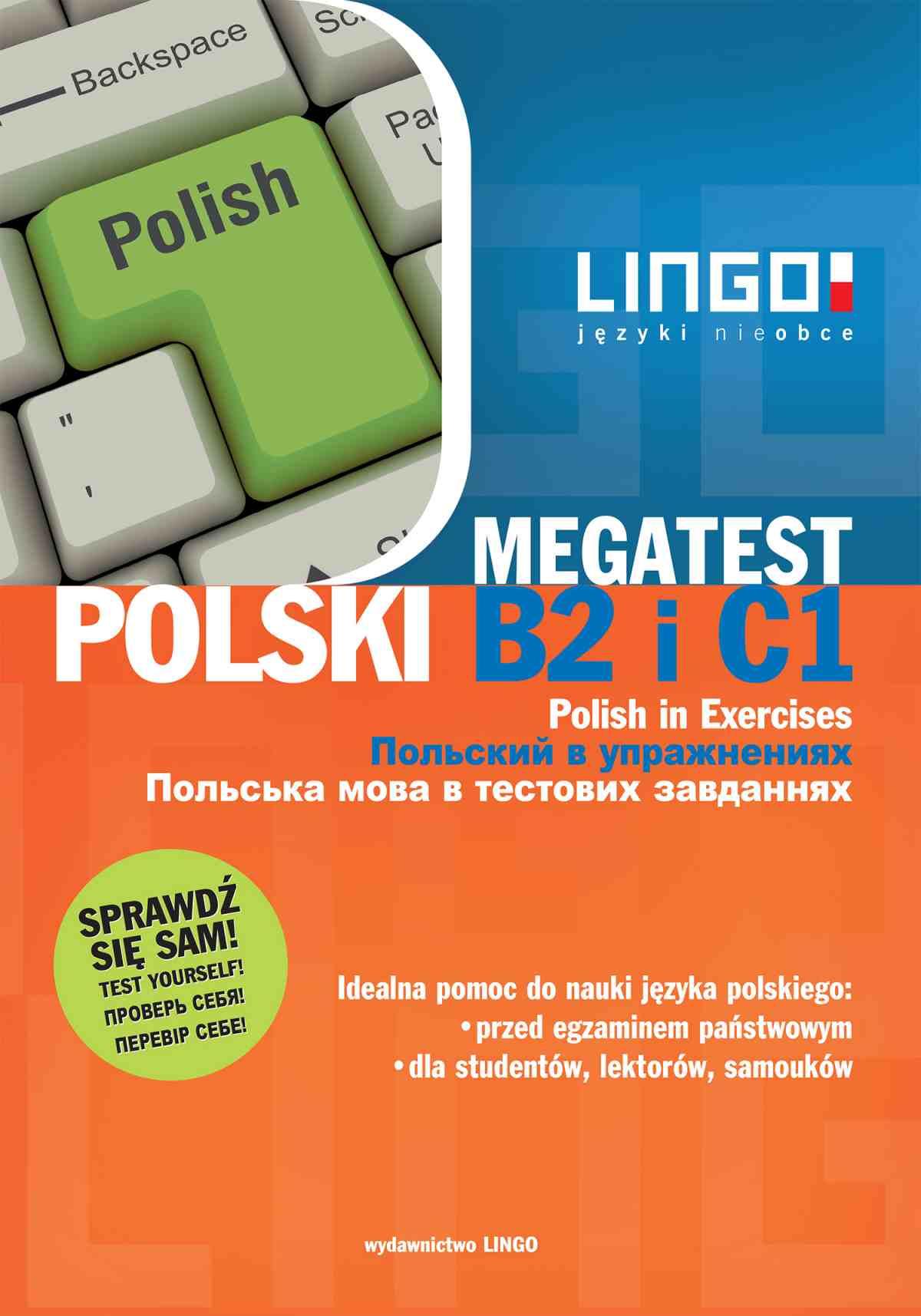 Polski B2 i C1. Megatest. Polish B2 and C1 in Exercises - Ebook (Książka PDF) do pobrania w formacie PDF