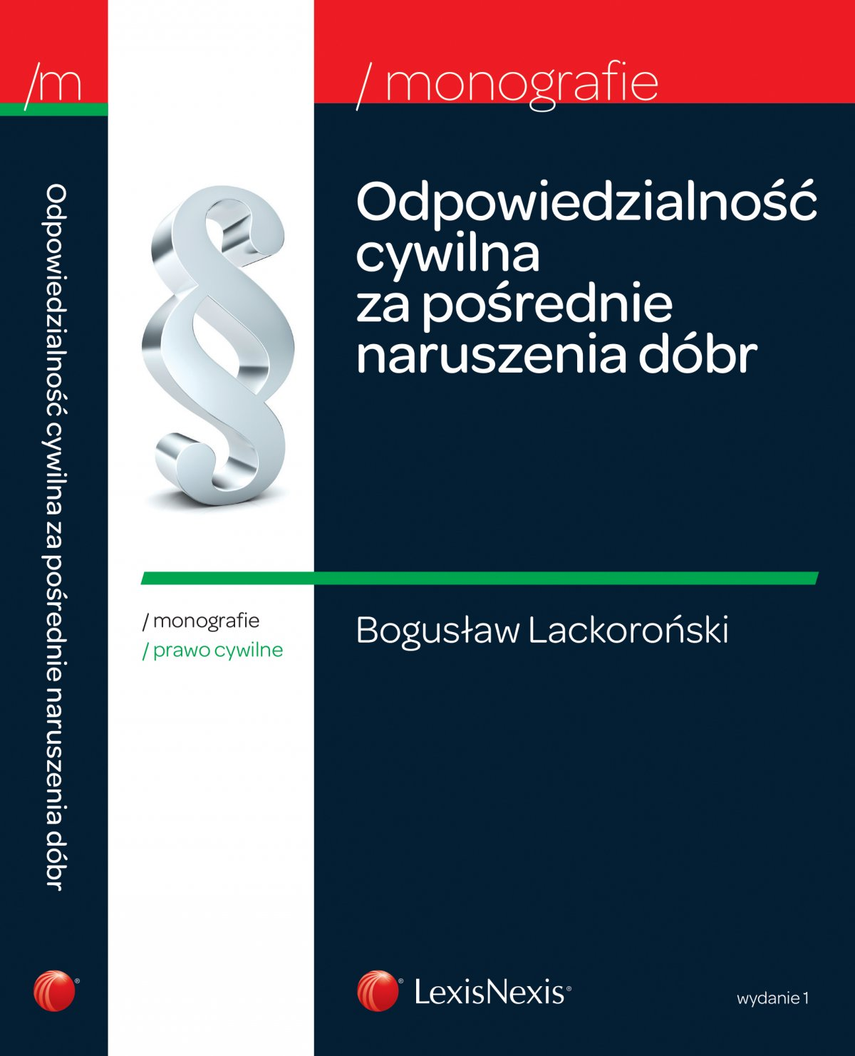 Odpowiedzialność cywilna za pośrednie naruszenia dóbr - Ebook (Książka EPUB) do pobrania w formacie EPUB