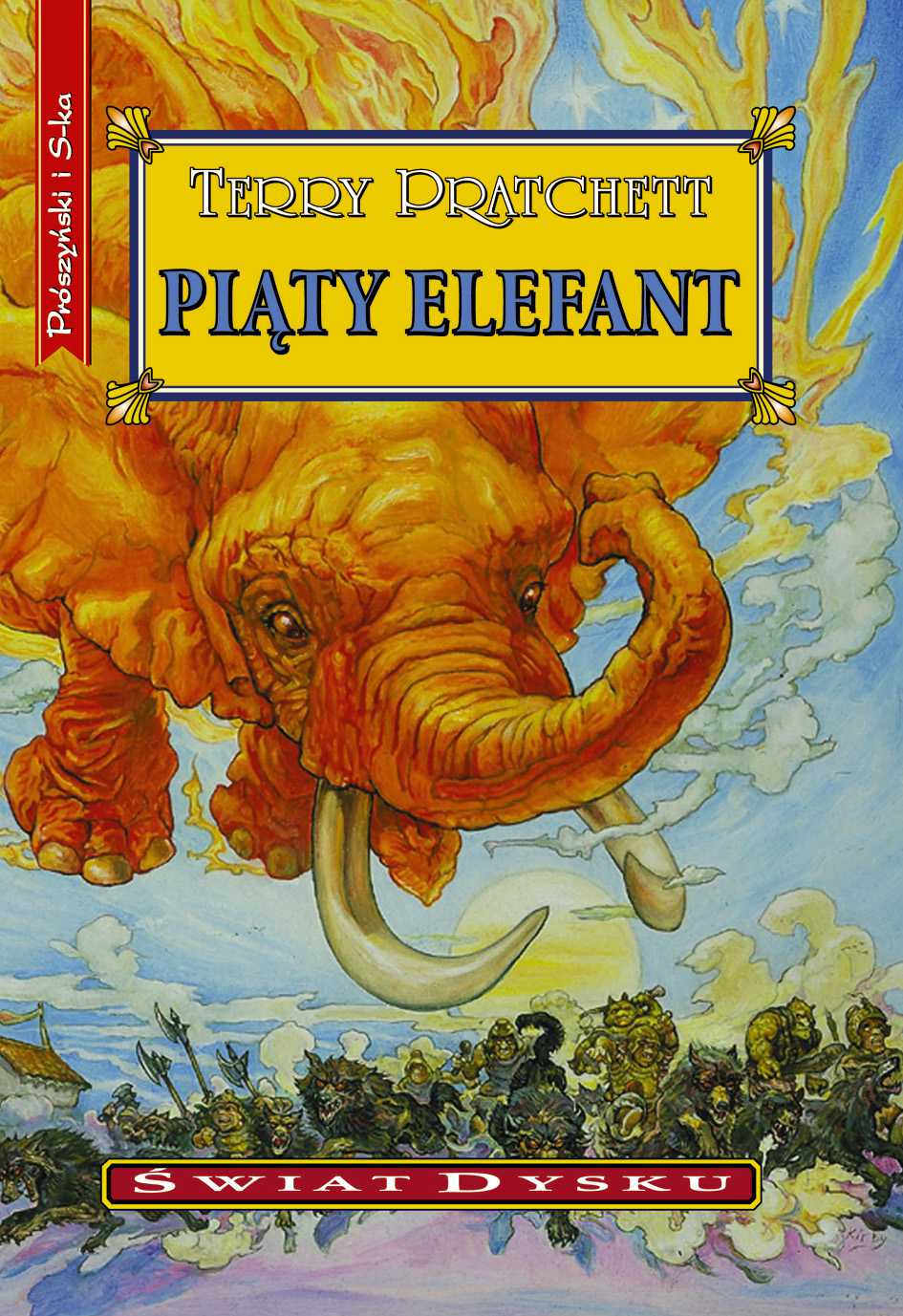 Piąty elefant - Ebook (Książka EPUB) do pobrania w formacie EPUB