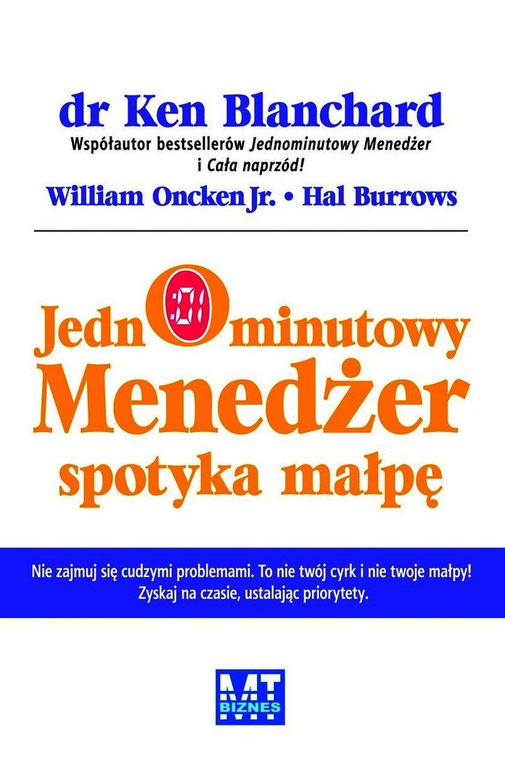 Jednominutowy menedżer spotyka małpę - Ebook (Książka PDF) do pobrania w formacie PDF