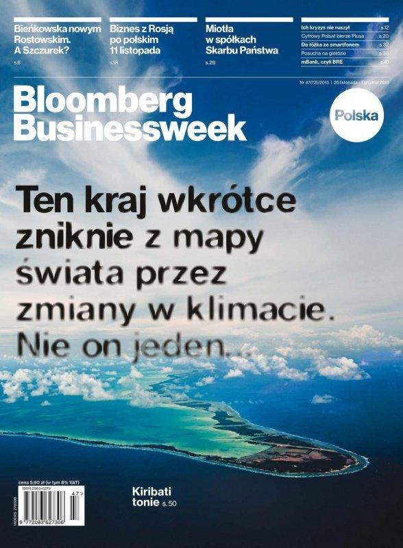 """""""Bloomberg Businessweek"""" wydanie nr 47/13 - Ebook (Książka PDF) do pobrania w formacie PDF"""