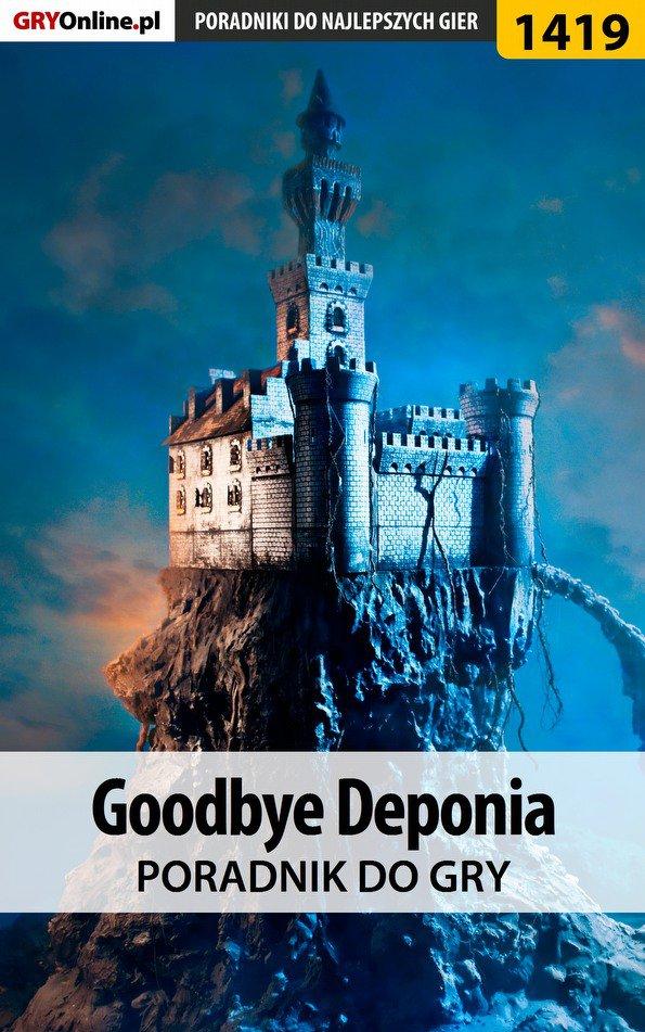 Goodbye Deponia - poradnik do gry - Ebook (Książka PDF) do pobrania w formacie PDF