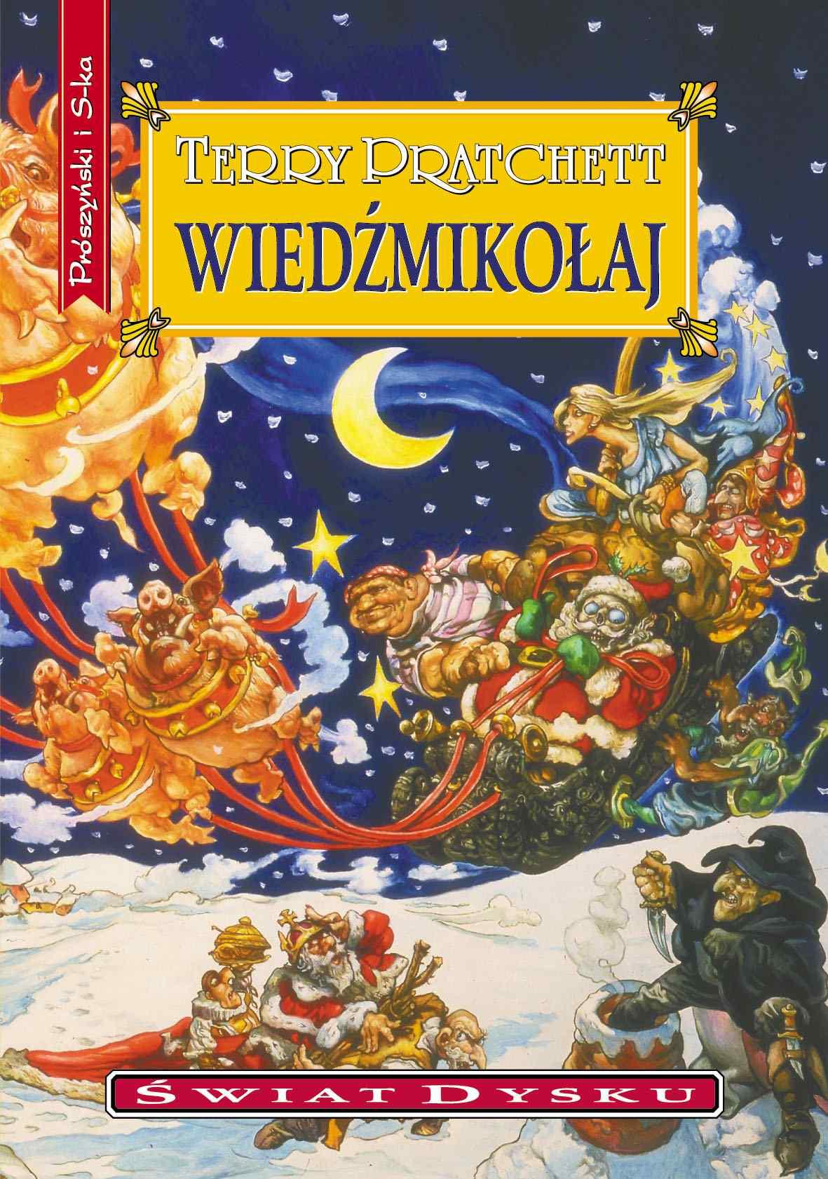 Wiedźmikołaj - Ebook (Książka EPUB) do pobrania w formacie EPUB