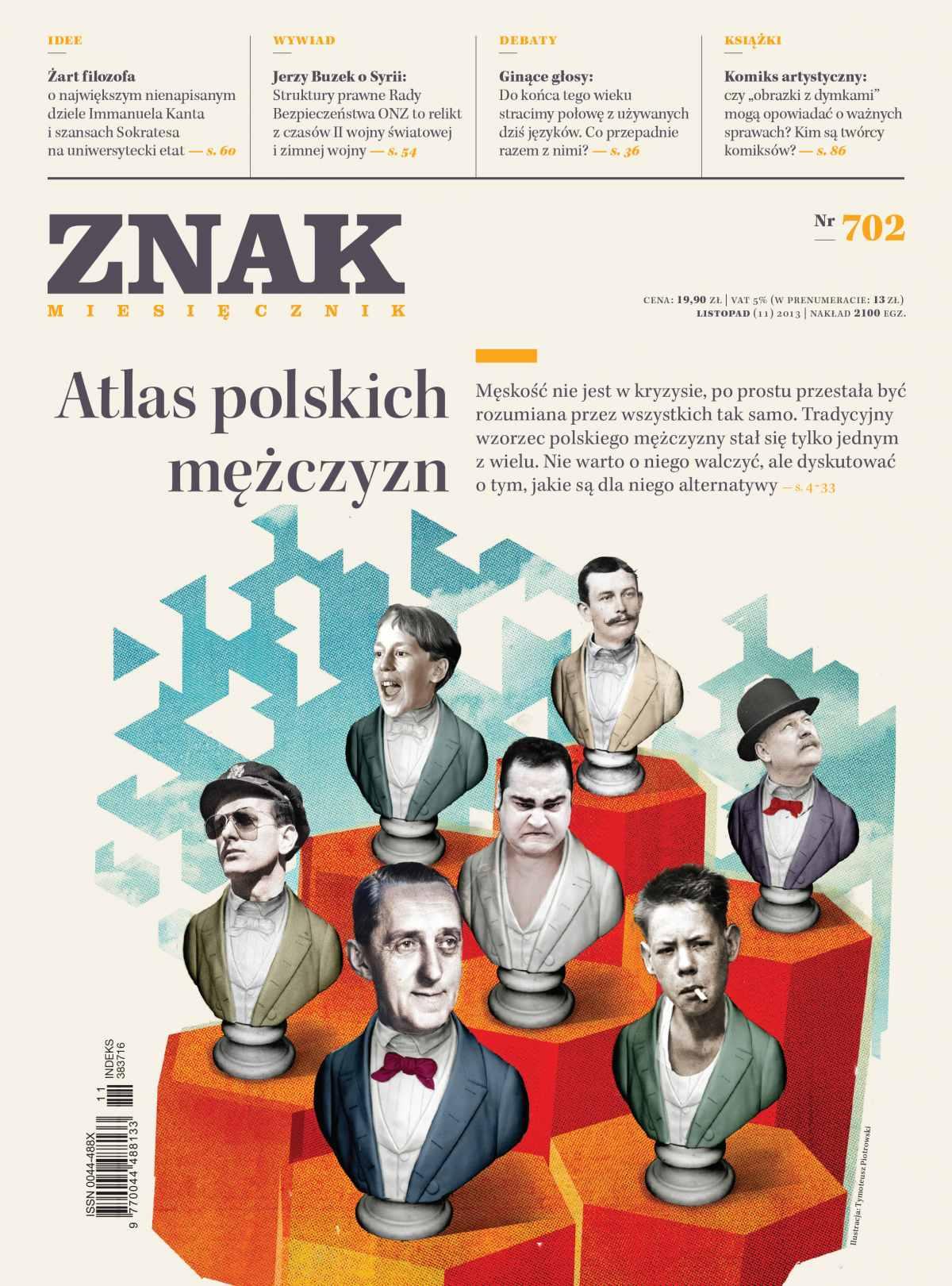 Miesięcznik Znak. Listopad 2013 - Ebook (Książka EPUB) do pobrania w formacie EPUB