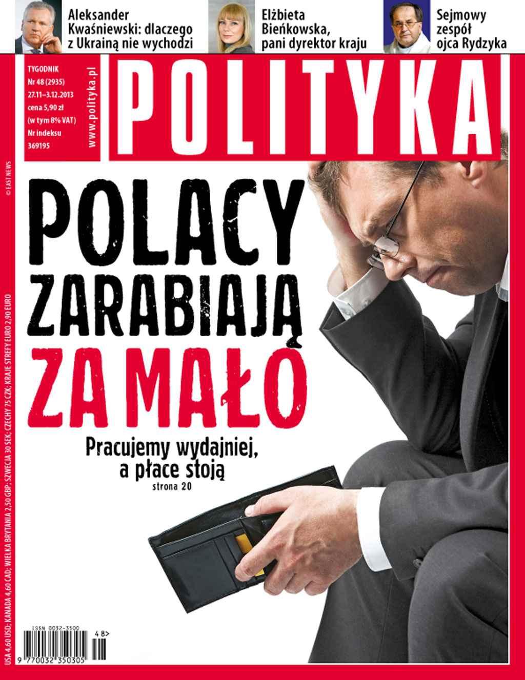 Polityka nr 48/2013 - Ebook (Książka PDF) do pobrania w formacie PDF