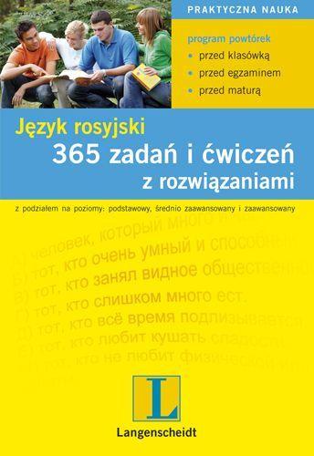 365 zadań i ćwiczeń z rozwiązaniami. Język rosyjski - Ebook (Książka PDF) do pobrania w formacie PDF