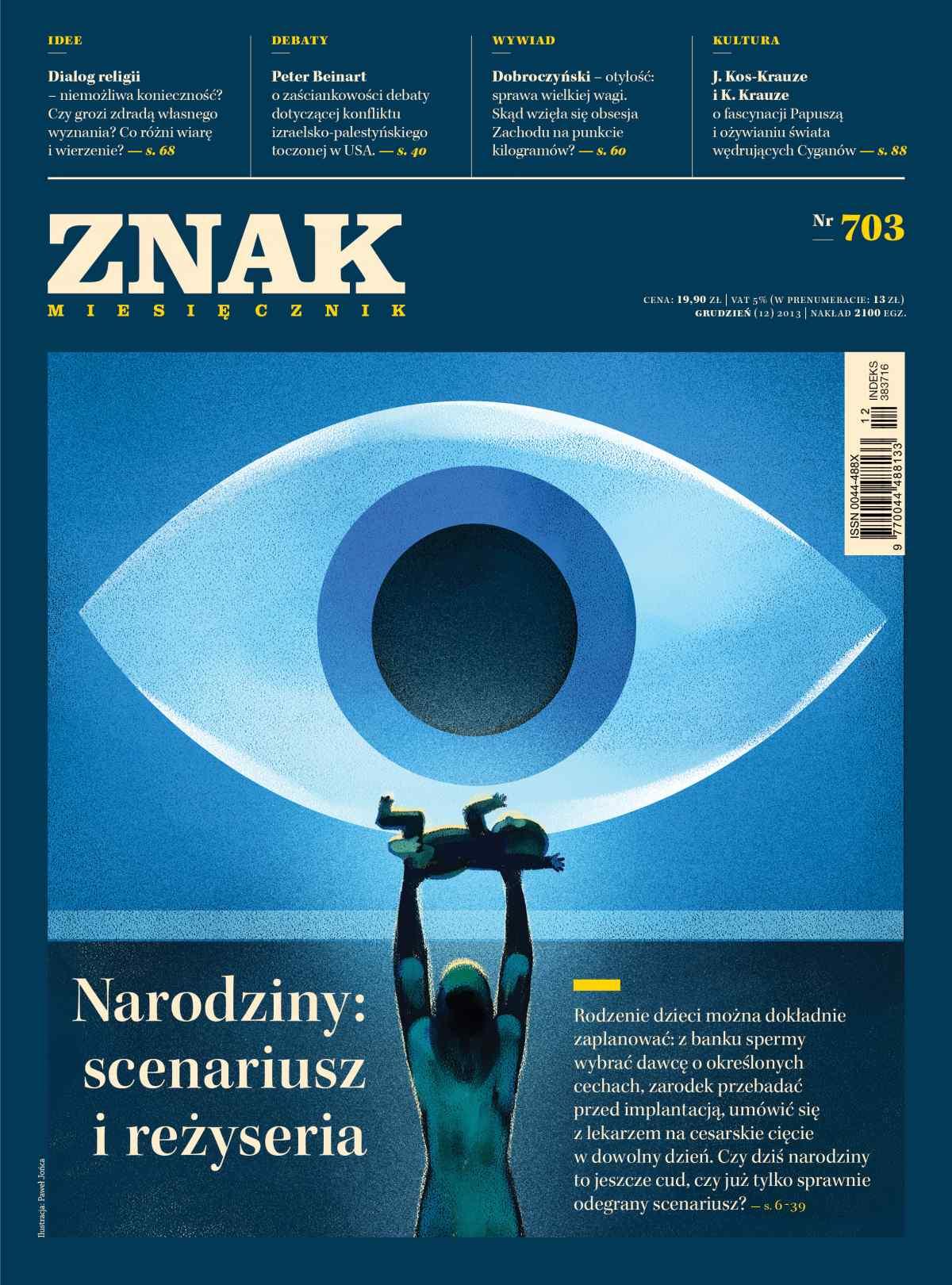 Miesięcznik Znak. Grudzień 2013 - Ebook (Książka EPUB) do pobrania w formacie EPUB