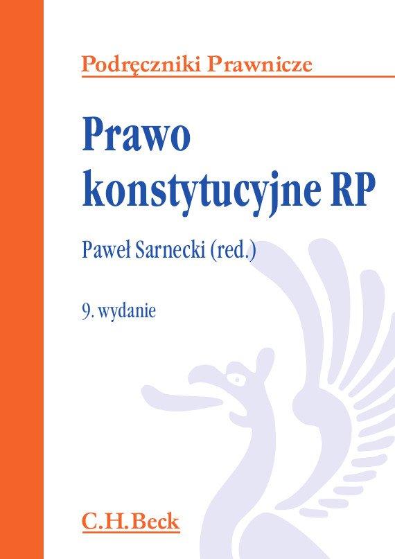 Prawo konstytucyjne RP. Wydanie 9 - Ebook (Książka PDF) do pobrania w formacie PDF