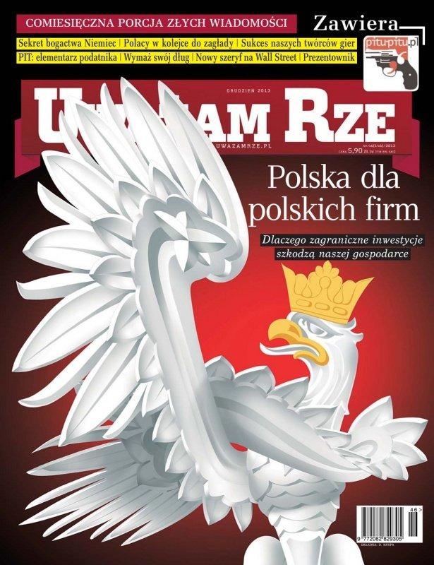 """""""Uważam Rze. Inaczej pisane"""" nr 46/2013 - Ebook (Książka PDF) do pobrania w formacie PDF"""