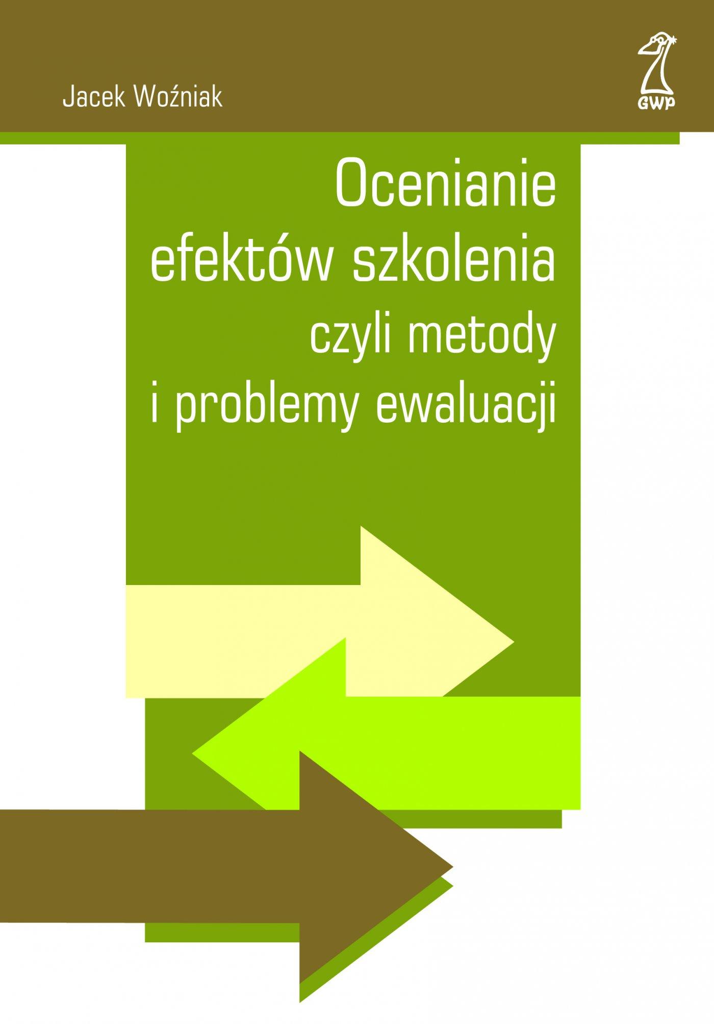 Ocenianie efektów szkolenia - Ebook (Książka EPUB) do pobrania w formacie EPUB