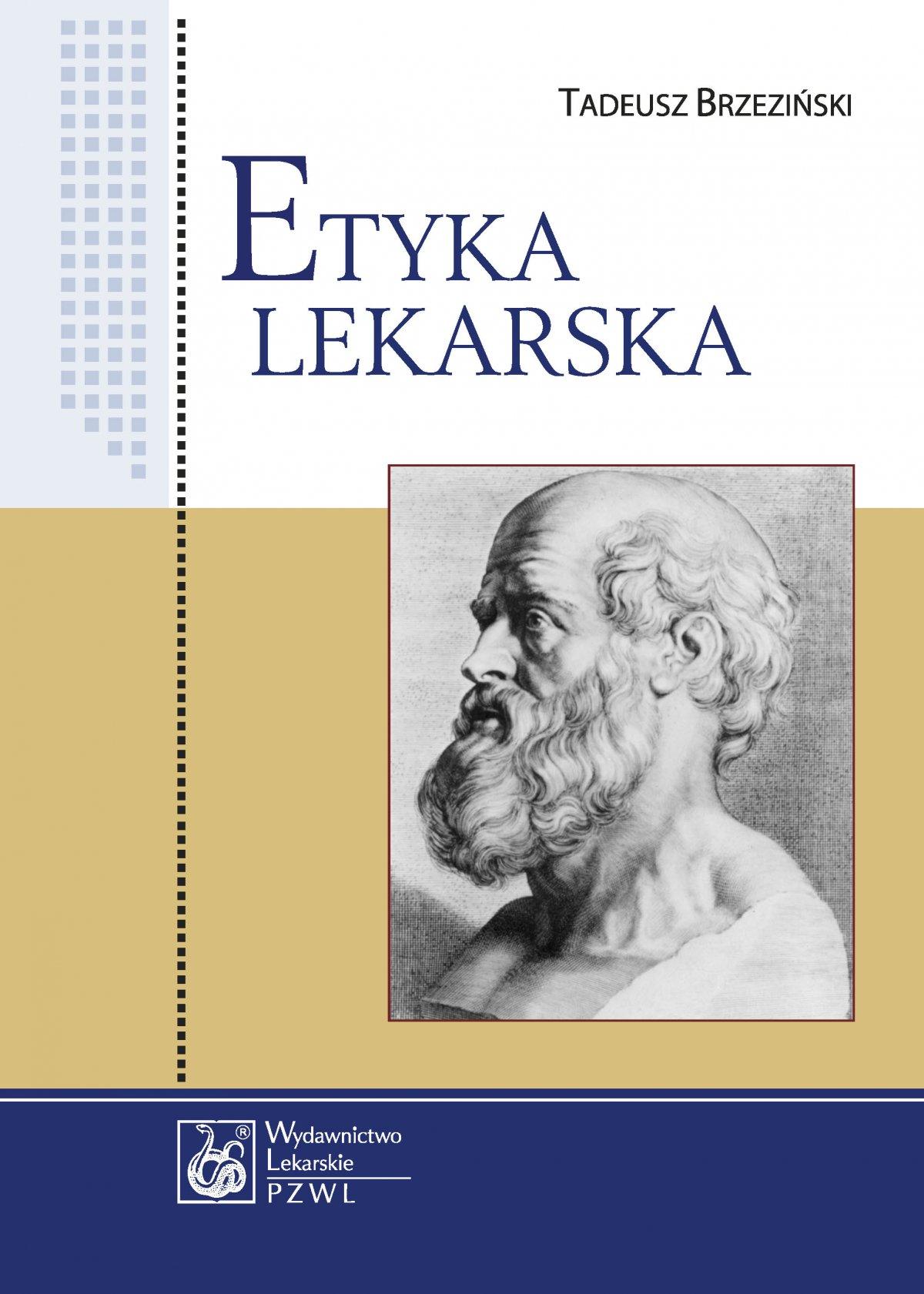 Etyka lekarska - Ebook (Książka EPUB) do pobrania w formacie EPUB
