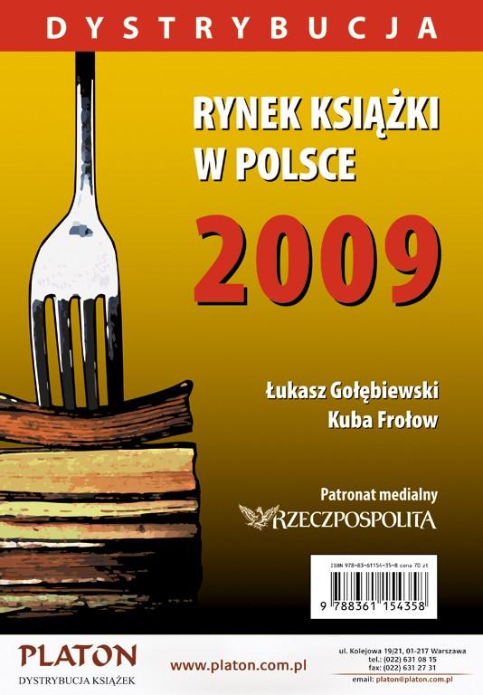 Rynek książki w Polsce 2009. Dystrybucja - Ebook (Książka PDF) do pobrania w formacie PDF