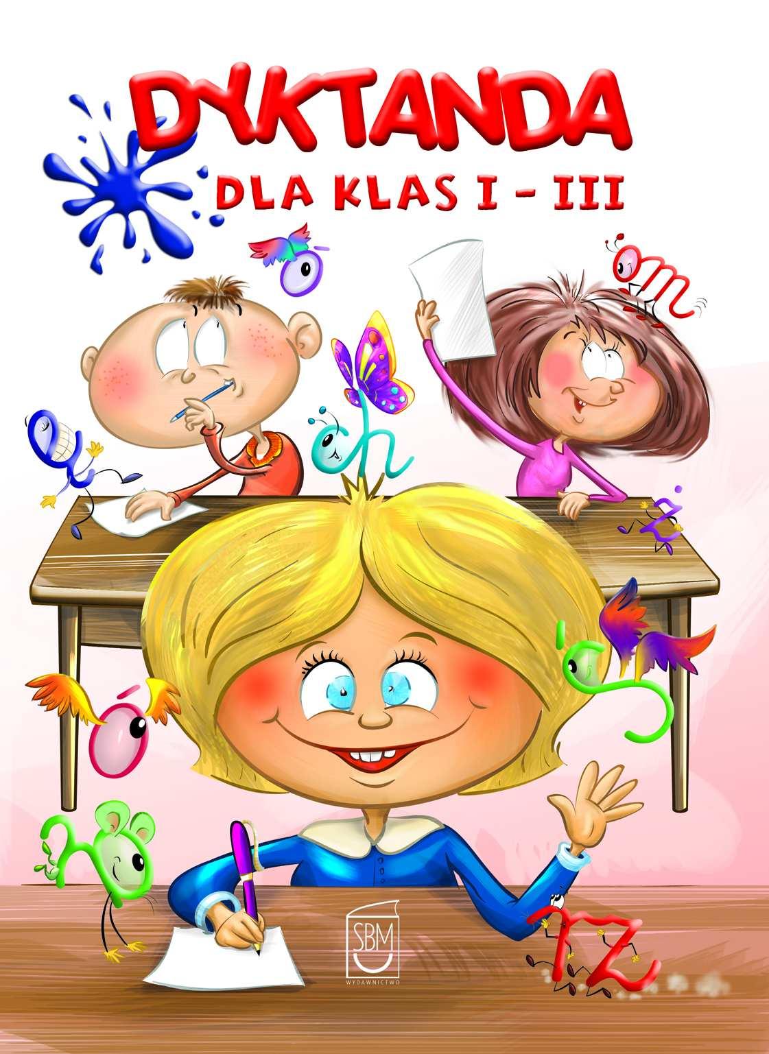 Dyktanda dla klas I-III - Ebook (Książka PDF) do pobrania w formacie PDF
