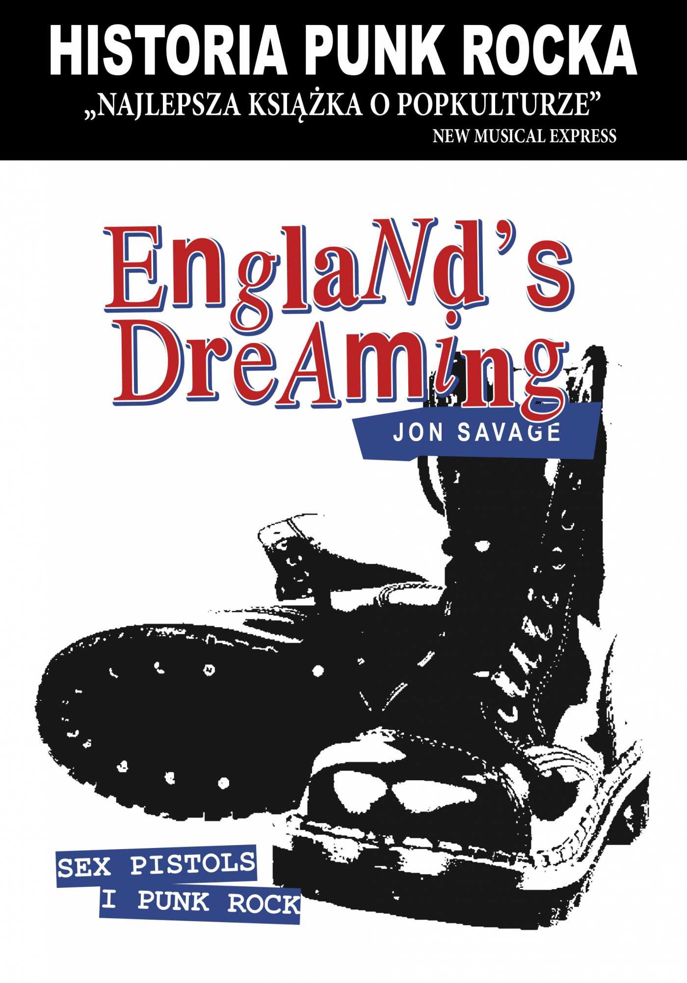 England's Dreaming. Historia punk rocka. - Ebook (Książka EPUB) do pobrania w formacie EPUB