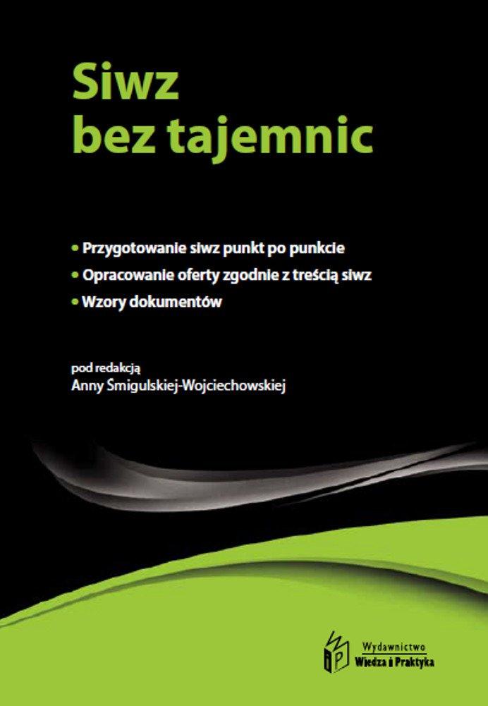 Siwz bez tajemnic - Ebook (Książka PDF) do pobrania w formacie PDF