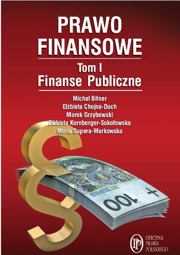 Prawo Finansowe. Tom I - Ebook (Książka EPUB) do pobrania w formacie EPUB