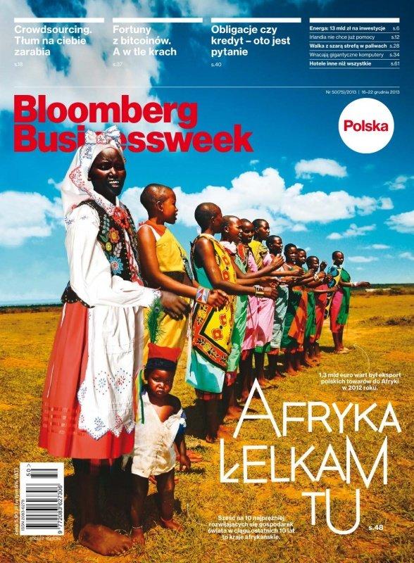 """""""Bloomberg Businessweek"""" wydanie nr 50/13 - Ebook (Książka PDF) do pobrania w formacie PDF"""