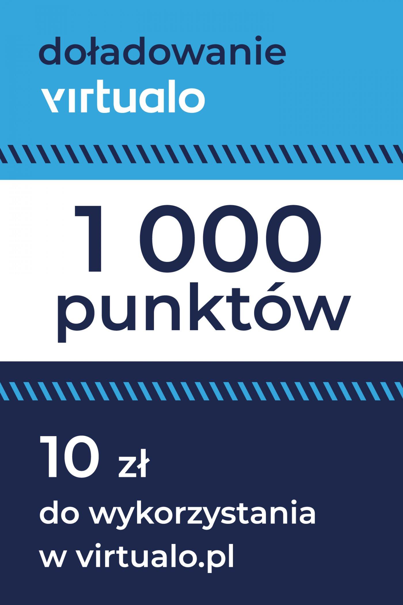 Doładowanie punktów Virtualo - 1000 punktów -