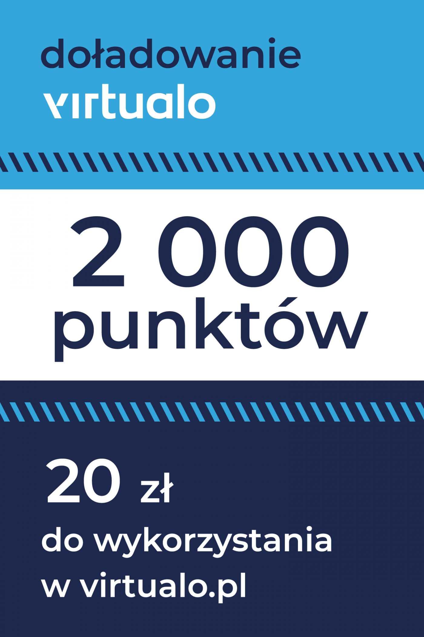 Doładowanie punktów Virtualo - 2000 punktów -
