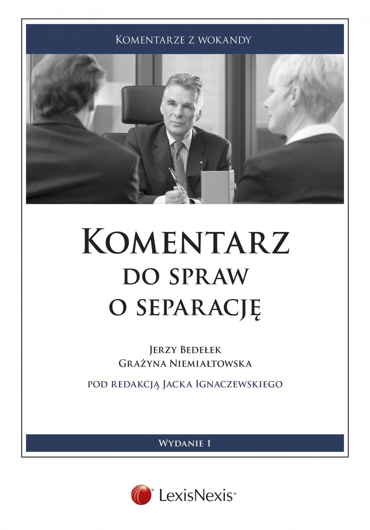 Komentarz do spraw o separację. Wydanie 1 - Ebook (Książka EPUB) do pobrania w formacie EPUB