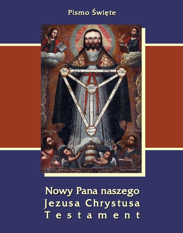 Pismo Święte Nowego Testamentu Jakuba Wujka - Ebook (Książka EPUB) do pobrania w formacie EPUB