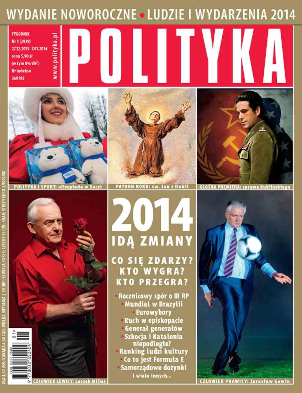 Polityka nr 1/2014 - Ebook (Książka PDF) do pobrania w formacie PDF