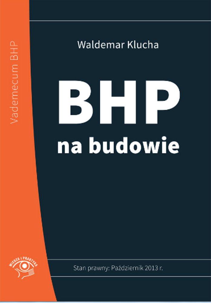 BHP na budowie - Ebook (Książka EPUB) do pobrania w formacie EPUB