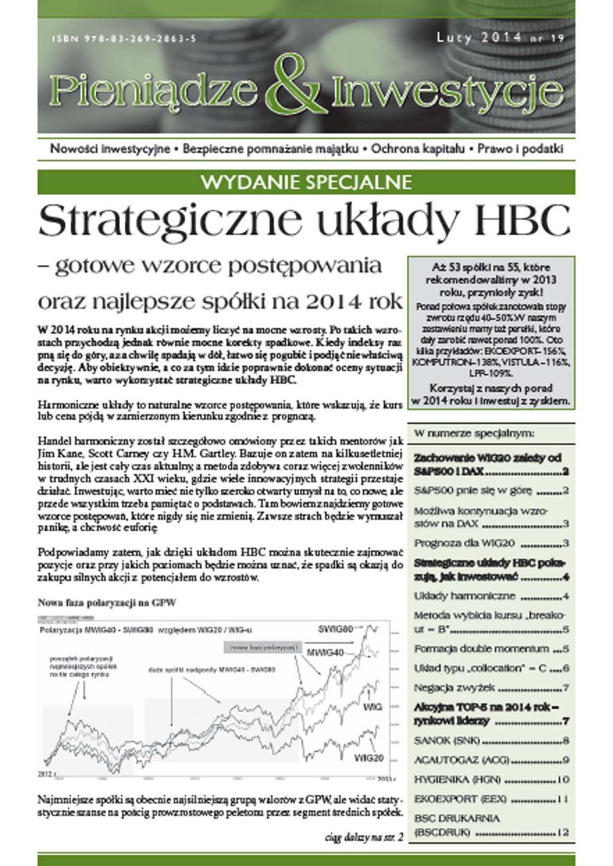 Strategiczne układy HBC – gotowe wzorce postępowania oraz najlepsze spółki na 2014 rok - Ebook (Książka PDF) do pobrania w formacie PDF