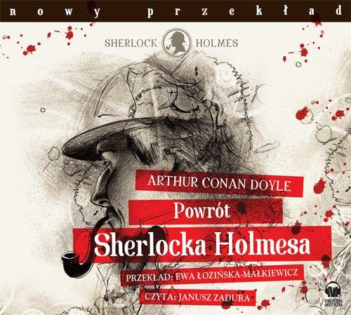 Powrót Sherlocka Holmesa - Audiobook (Książka audio MP3) do pobrania w całości w archiwum ZIP
